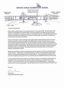 National Honor Society Recommendation Letter Recommendation Letter Example Letter Of Recommendation
