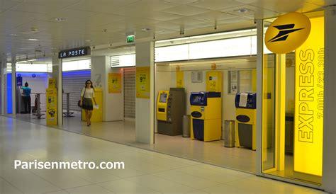 bureau de poste la défense cnit à en métro