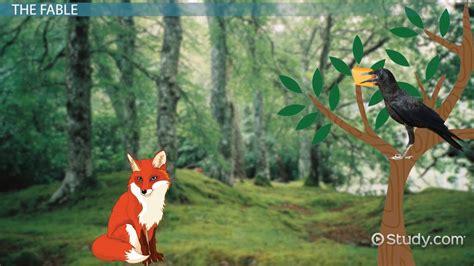 fox  crow moral themes analysis literature