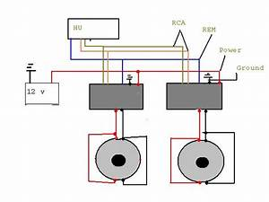 How Do I Wire Two Amps To Two Separate Subs