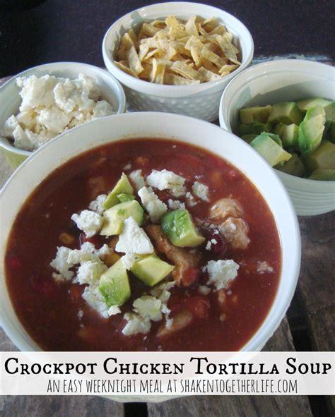 crockpot tortilla soup easy crock pot tacos