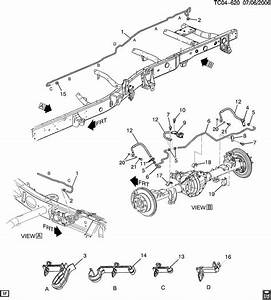 Service Manual  2002 Chevrolet Avalanche Brake Replacement System Diagram