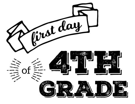 Free Printable First Day Of School Signs  Paper Trail Design