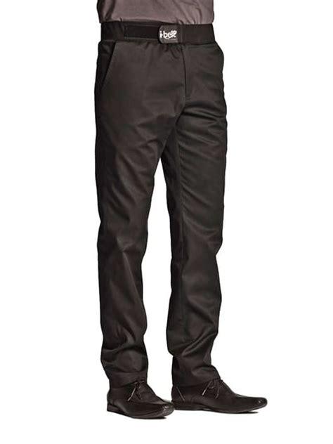 pantalon de cuisine homme ceinture i belt 174 cyclone noir clement design 174 taille 52