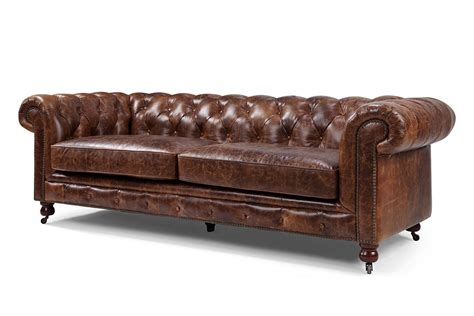 chesterfield canape canapé chesterfield en cuir kensington