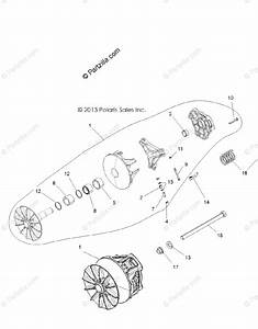 Polaris Side By Side 2015 Oem Parts Diagram For Drive