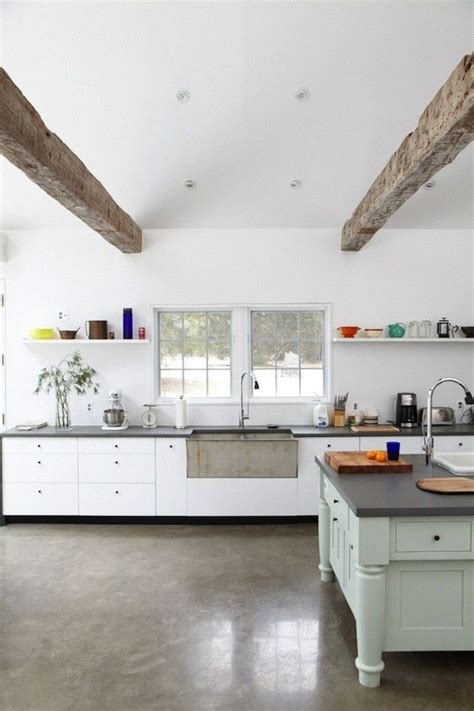 cement kitchen floors 31 concrete flooring ideas with pros and cons digsdigs