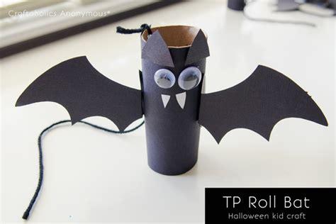 craftaholics anonymous 174 bat and owl preschool crafts 224   TP roll bat