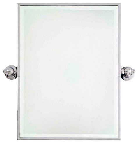 Bathroom Mirrors Chrome by Traditional Minka 24 Quot High Rectangle Chrome Bathroom Wall