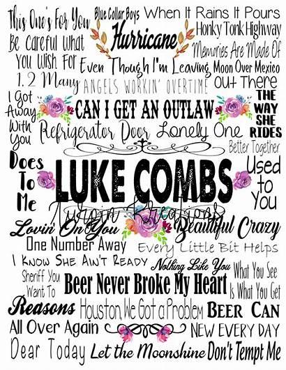 Luke Combs Transfer Songs Wallen Morgan
