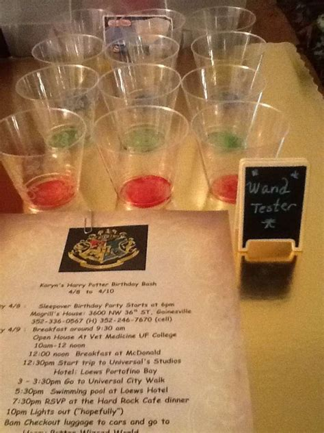 harry potter birthday party ideas photo    catch