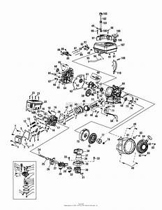 Mtd 21aa40m1029  2011  Parts Diagram For Engine Assembly