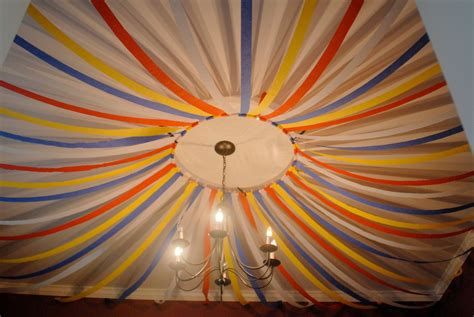Decorating Ideas With Streamers by Streamer Ceiling Decoration Ideas Search