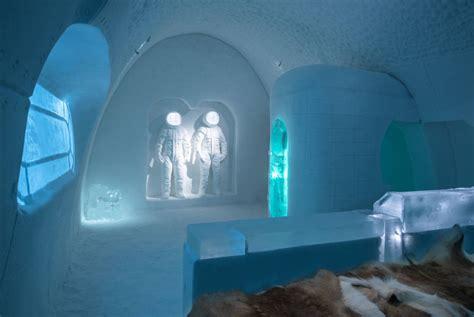 icehotel ice hotel space sweden asaf suite hotels adrian pablo lopez bois kliger holidays winter lapland arquitectura suites deslumbrante suecia
