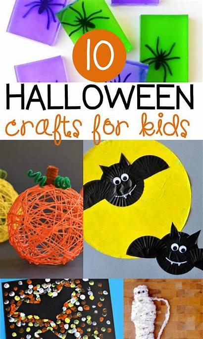 Halloween Crafts Activities Kindergarten Toddlers Projects October