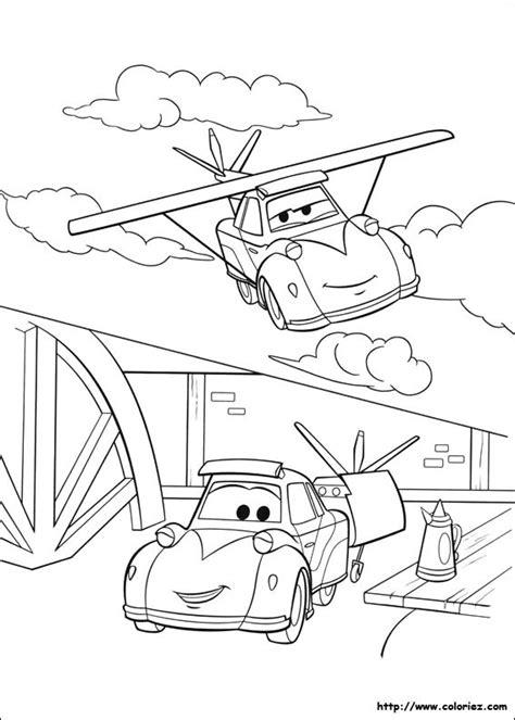 coloriage planes dusty voiture volante dessin gratuit