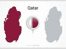 Vector Qatar Flag Map Pointer Download Free Vector Art