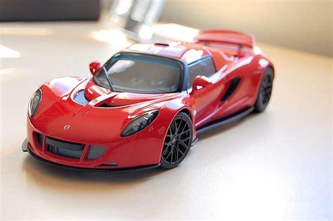 Hennessey Venom Gt Spyder Rojo Autoart