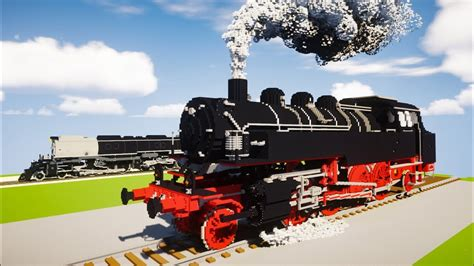 minecraft drg 86 05 big locomotive review youtube