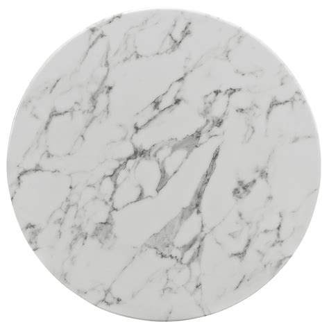 Brilliant White Marble Table   Modern Furniture ? Brickell Collection