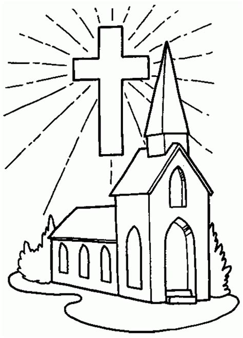 casas christian preschool free printable cross coloring pages for 987