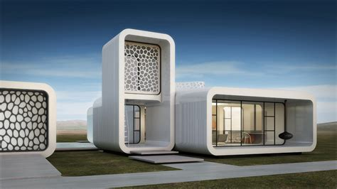 The world's first 3D-printed office building is in Dubai