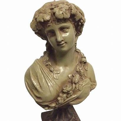 Nouveau Victorian Bust French Antique Fine Greek