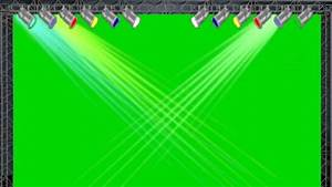 Concert Stage Lights 2 0 Green Screen Animation - YouTube