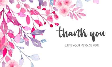 thank you card template maker thank you card maker design thank you cards