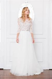 samara bodice and lilah skirt lace top bridal With wedding dress skirts