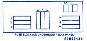 Datsun Q7 2007 Under Hood Fuse Box  Block Circuit Breaker
