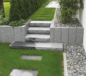 Gartengestaltung Granit Stelen Nowaday Garden