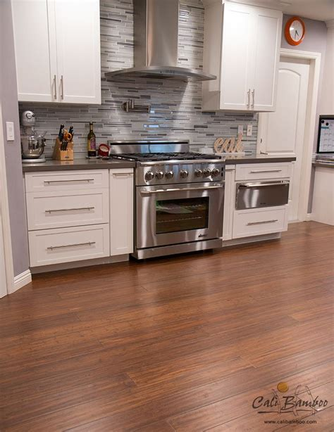 is bamboo flooring for kitchens antique java narrow plank click lock bamboo flooring 9012
