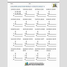 Free Printable Money Worksheets (£