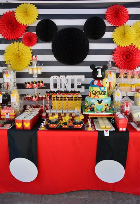 Mickey Mouse Decorations by Mickey Mouse 1st Birthday Mickey 1st Birthdays