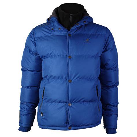mens kangol kc padded hooded fleece lined winter