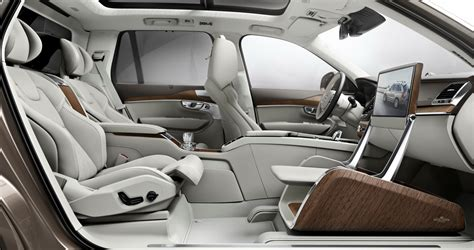 siege auto axis volvo redefines luxury with the lounge console for the