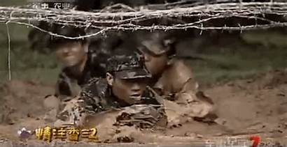 Crawl Special Forces Training China Through Animated