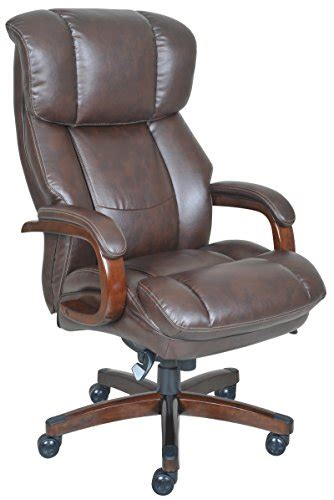 la z boy fairmont big executive bonded leather