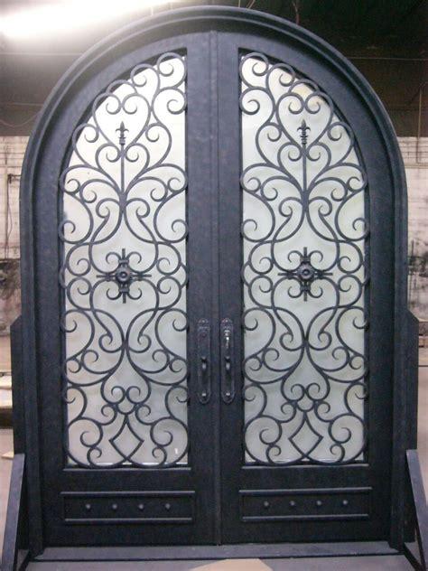 rod iron doors wrought iron door el1003 monarch custom doors