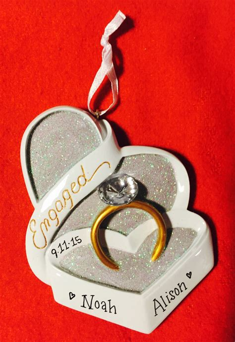 pin by abbs lambert on christmas engagement ornaments