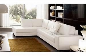 canape d39angle divano en cuir italien vachette de qualite With canapé italien cuir vachette
