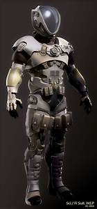 Sci-Fi Space Suit - Pics about space