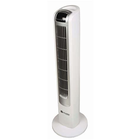 shop utilitech 36 in 3 speed oscillation tower fan at
