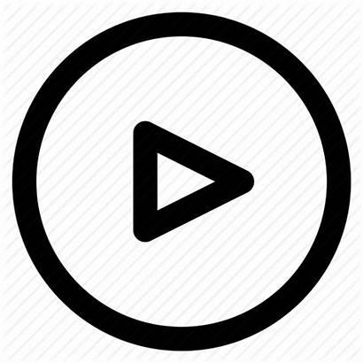 Button Play Start Icon Outline 512px Ios