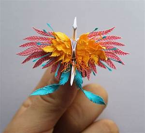 I Folded And Decorated An Origami Crane Every Day, For