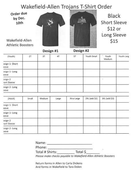 allen consolidated schools wakefield allen basketball shirt order