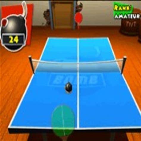 jeu de ping pong avec une bombe