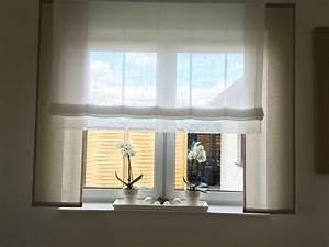 Store Für Balkontür Und Fenster : taupe mit wei und spitze gardinen store gro e fenster deko pinterest gro e ~ Sanjose-hotels-ca.com Haus und Dekorationen