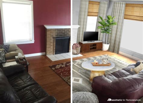 remodelaholic real life rooms neutral living room